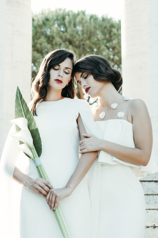 Sleek and Sexy Modern Wedding Inspiration in Emerald – Marcella Cistola 7