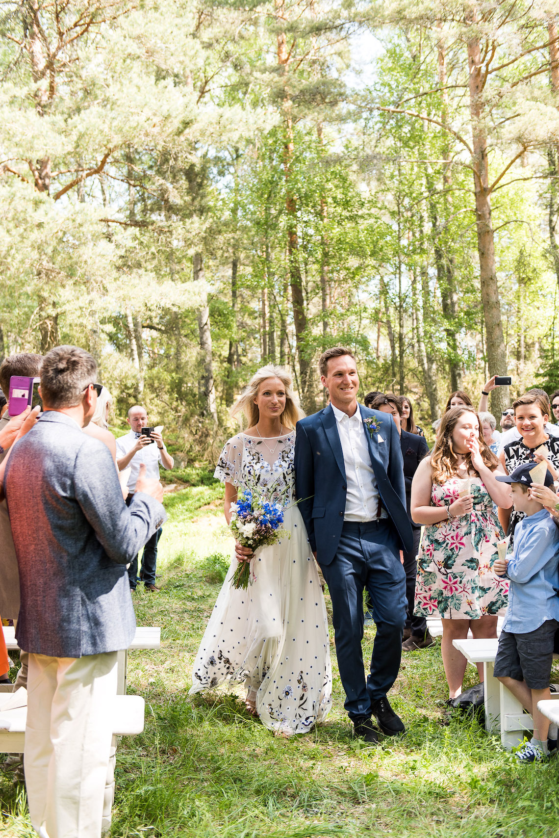 Wildflower Wedding With A Colorful Floral Wedding Dress – Jessica Grace Photography 29