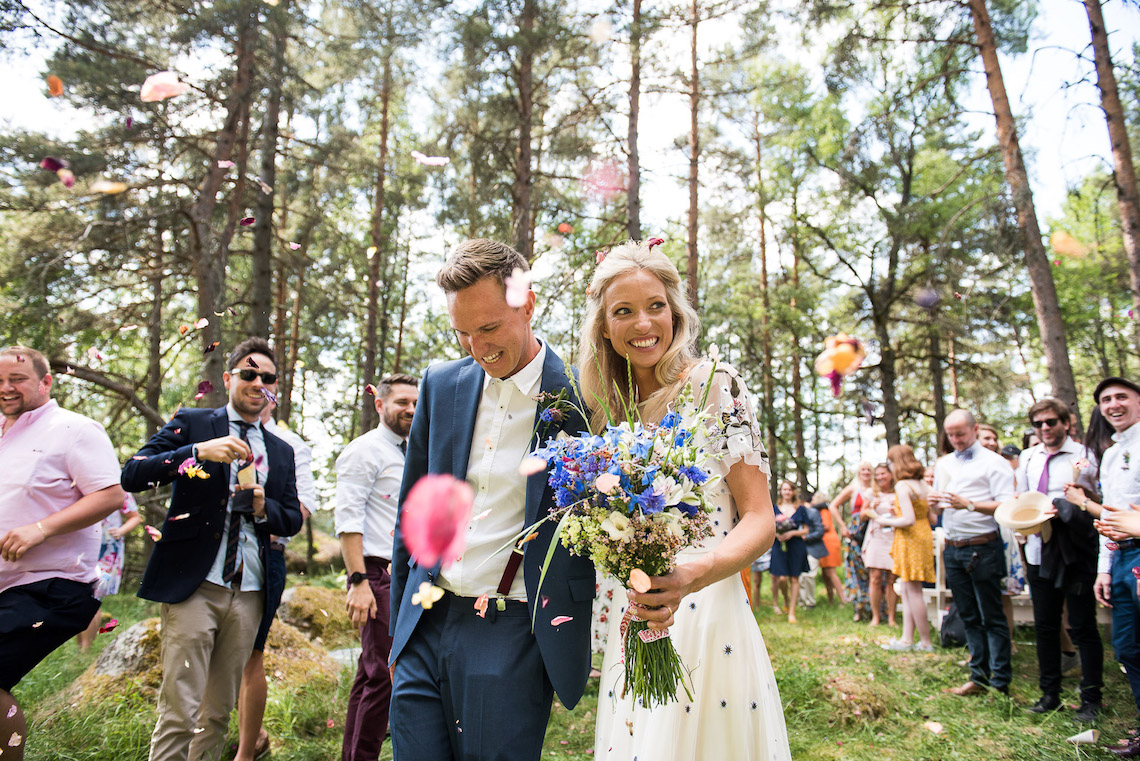 Wildflower Wedding With A Colorful Floral Wedding Dress – Jessica Grace Photography 7