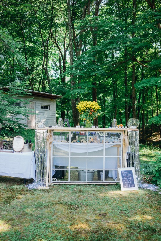 Adorable DIY Backyard Wedding in Upstate New York with a Rock and Roll Bride and Groom – Claire Eliza 1