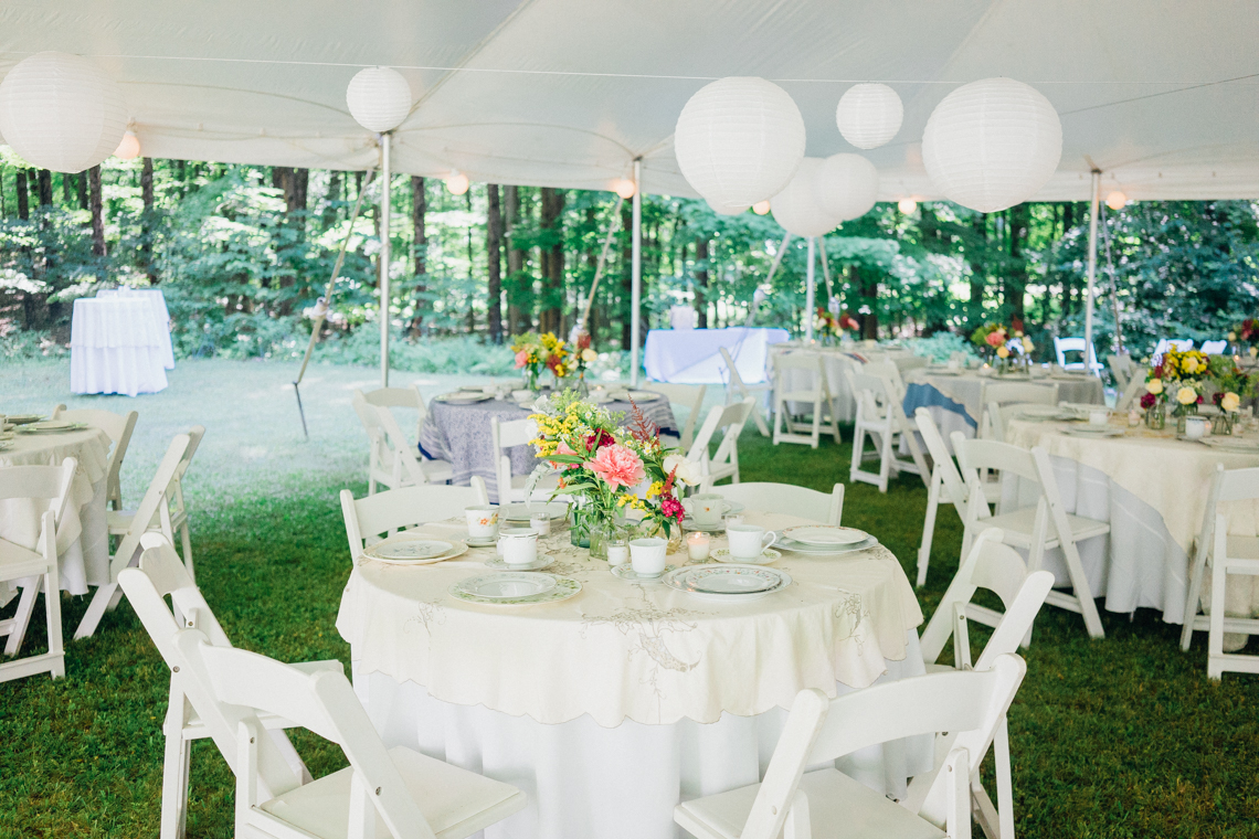 Adorable DIY Backyard Wedding in Upstate New York with a Rock and Roll Bride and Groom – Claire Eliza 3