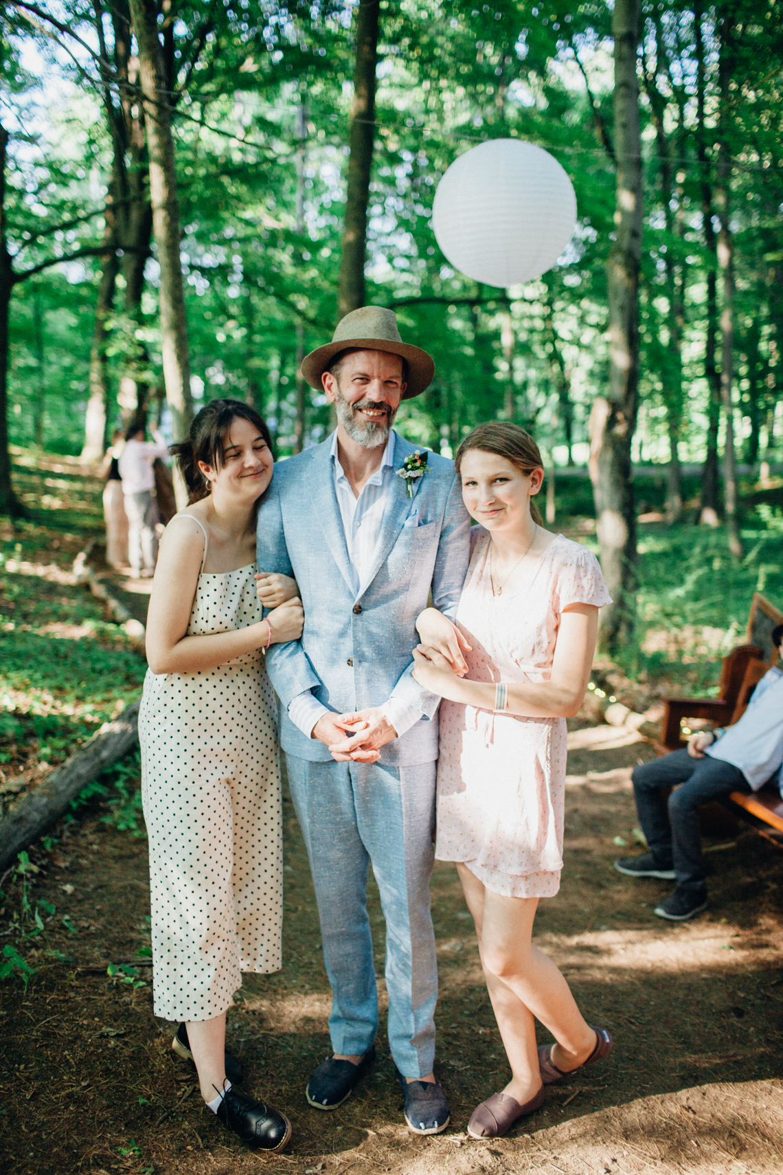 Adorable DIY Backyard Wedding in Upstate New York with a Rock and Roll Bride and Groom – Claire Eliza 33
