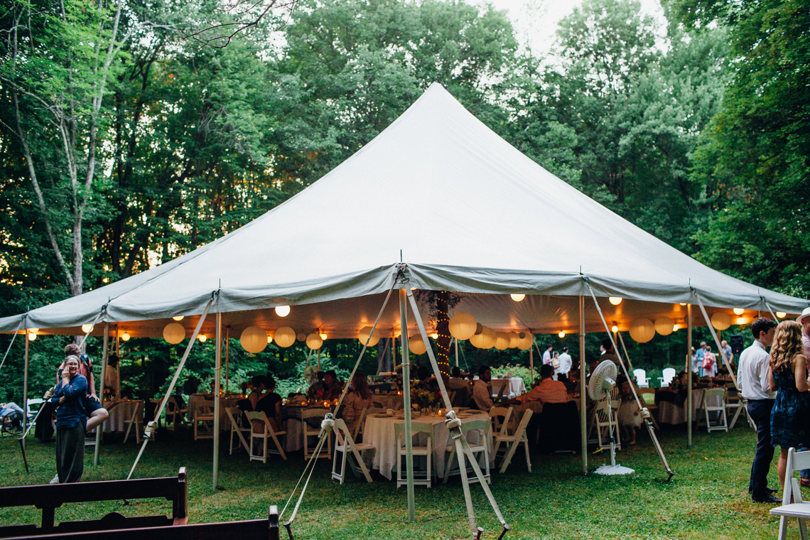 Adorable DIY Backyard Wedding in Upstate New York with a Rock and Roll Bride and Groom – Claire Eliza 68