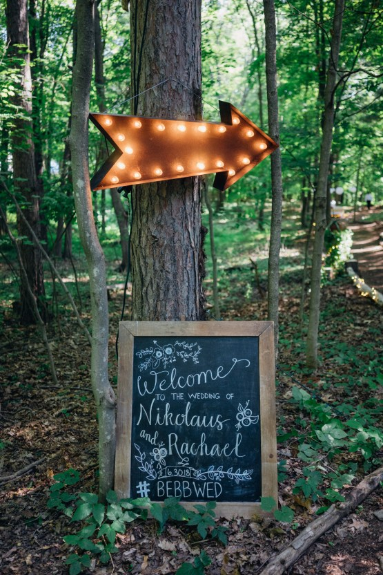 Adorable DIY Backyard Wedding in Upstate New York with a Rock and Roll Bride and Groom – Claire Eliza 7
