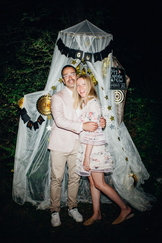 Adorable DIY Backyard Wedding in Upstate New York with a Rock and Roll Bride and Groom – Claire Eliza 79