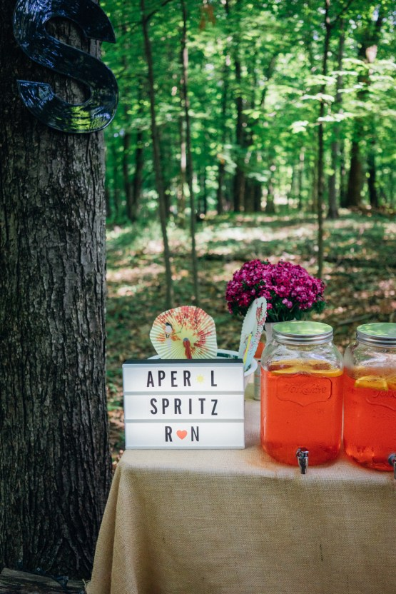 Adorable DIY Backyard Wedding in Upstate New York with a Rock and Roll Bride and Groom – Claire Eliza 8
