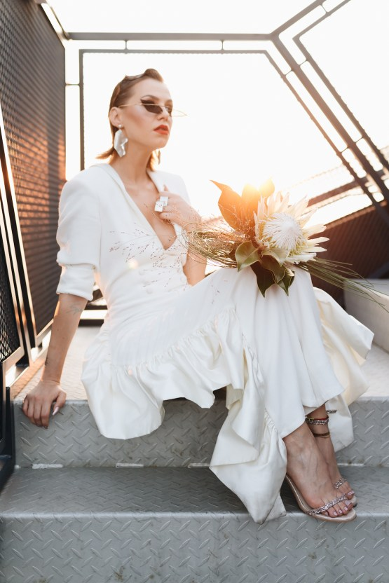 Avant-Garde Urban Bridal Inspiration from Bucharest – Wedding Stories – Moon Events 15