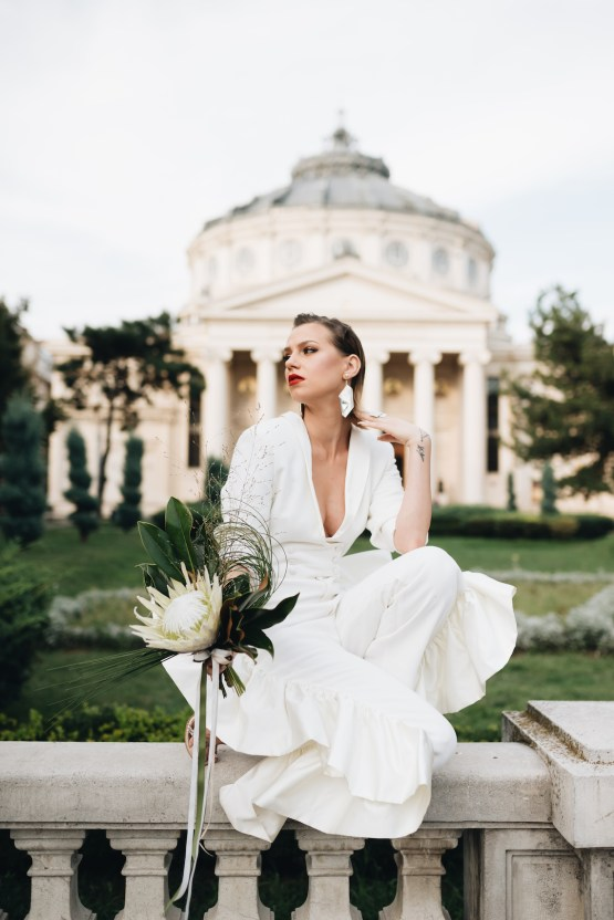Avant-Garde Urban Bridal Inspiration from Bucharest – Wedding Stories – Moon Events 8