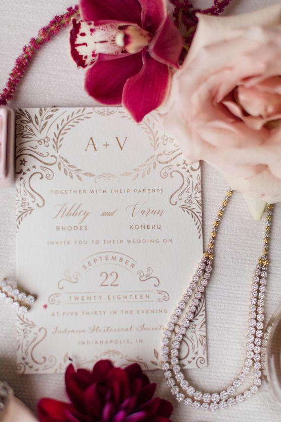 Beautiful Burgundy Hindu Fusion Wedding – Danielle Harris Photography 10