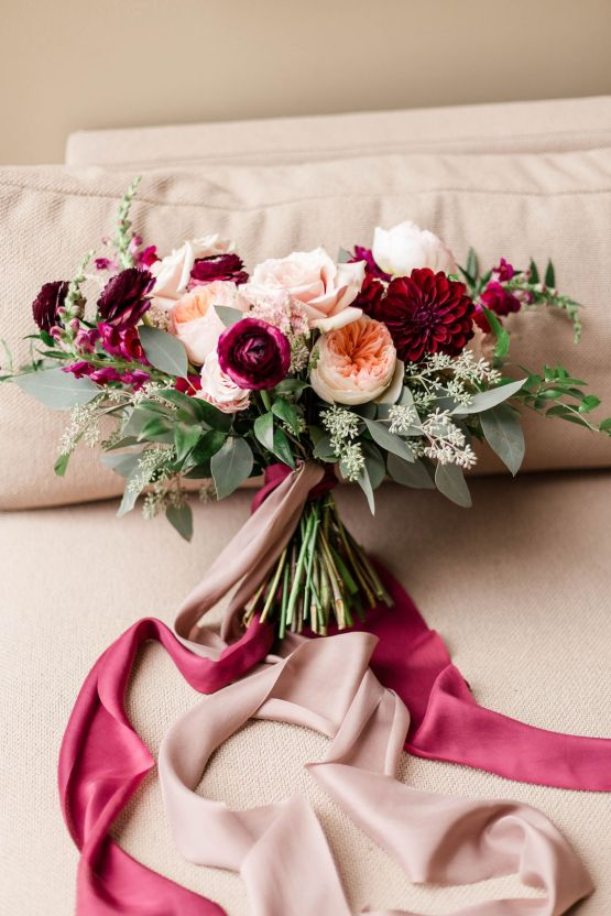 Beautiful Burgundy Hindu Fusion Wedding – Danielle Harris Photography 14