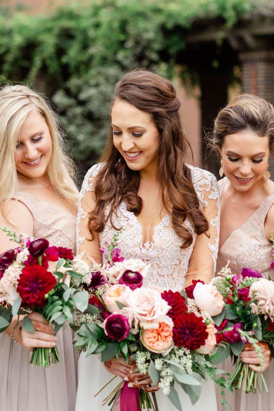 Beautiful Burgundy Hindu Fusion Wedding – Danielle Harris Photography 34