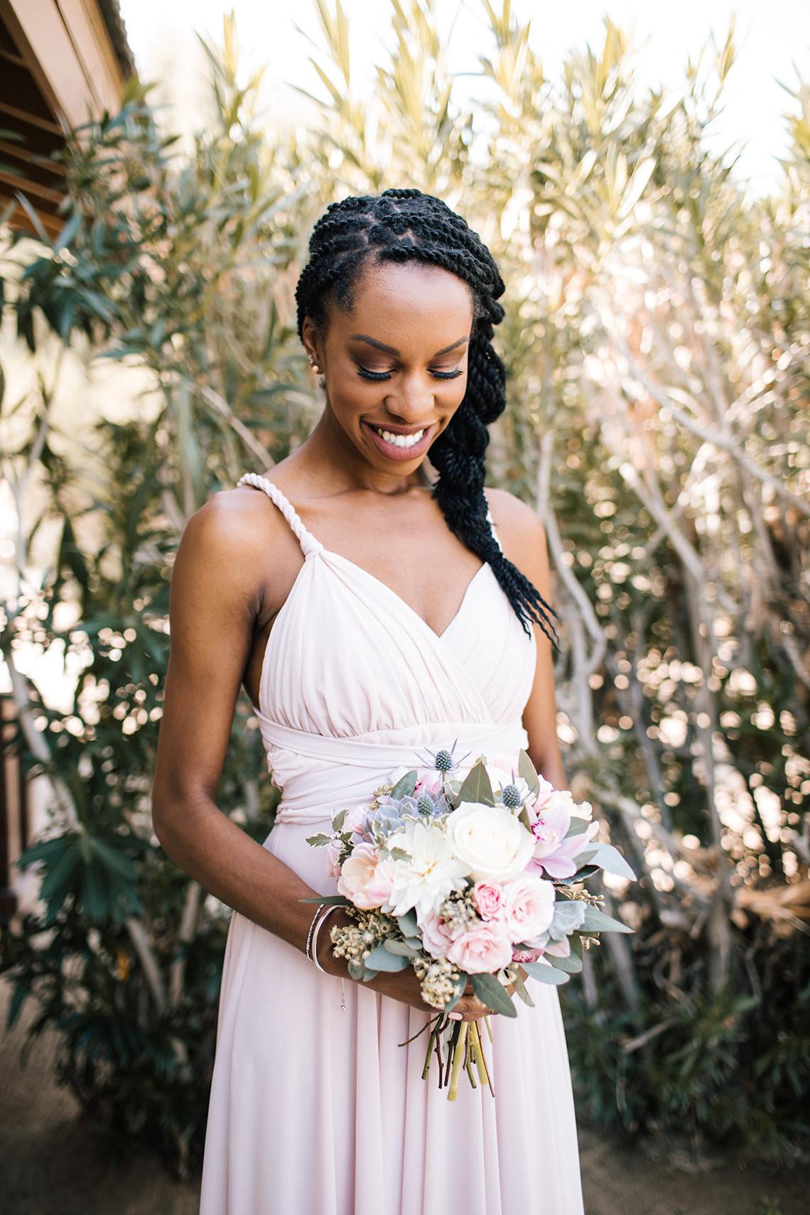 Blush Smoke Tree Ranch Palm Springs Wedding – Elle Lily Photography 42