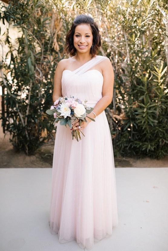 Blush Smoke Tree Ranch Palm Springs Wedding – Elle Lily Photography 43