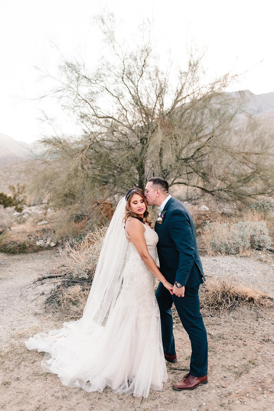 Blush Smoke Tree Ranch Palm Springs Wedding – Elle Lily Photography 49