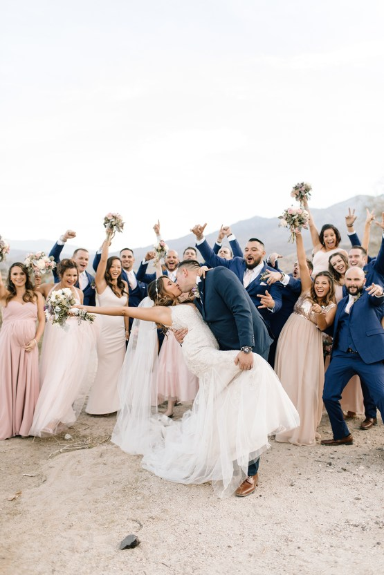 Blush Smoke Tree Ranch Palm Springs Wedding – Elle Lily Photography 54