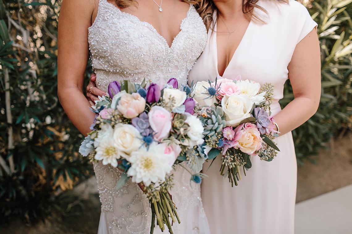 Blush Smoke Tree Ranch Palm Springs Wedding – Elle Lily Photography 7