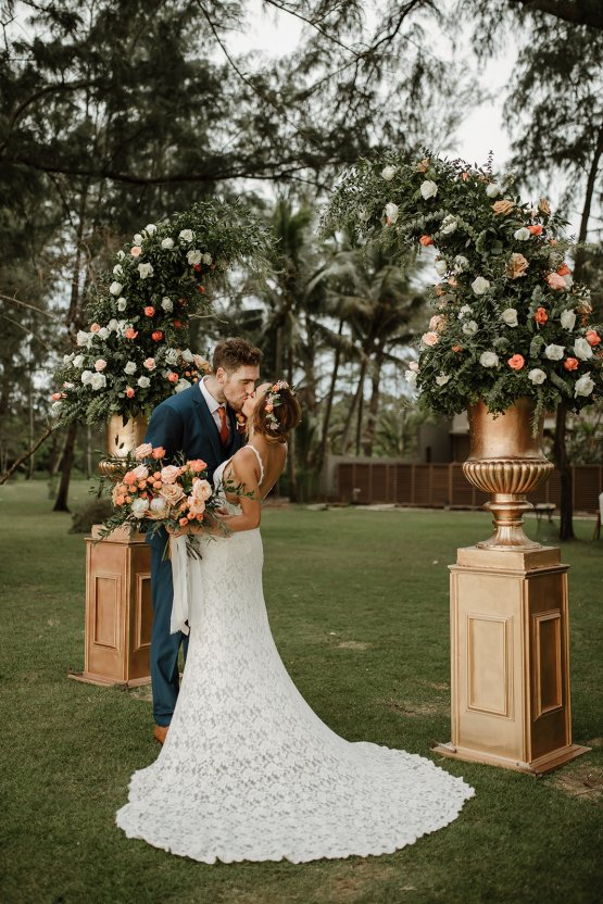 Boho Coral Thailand Beach Wedding – Alen Karupovic 27