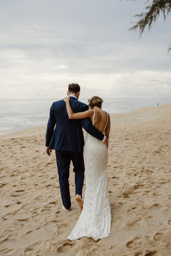 Boho Coral Thailand Beach Wedding – Alen Karupovic 29