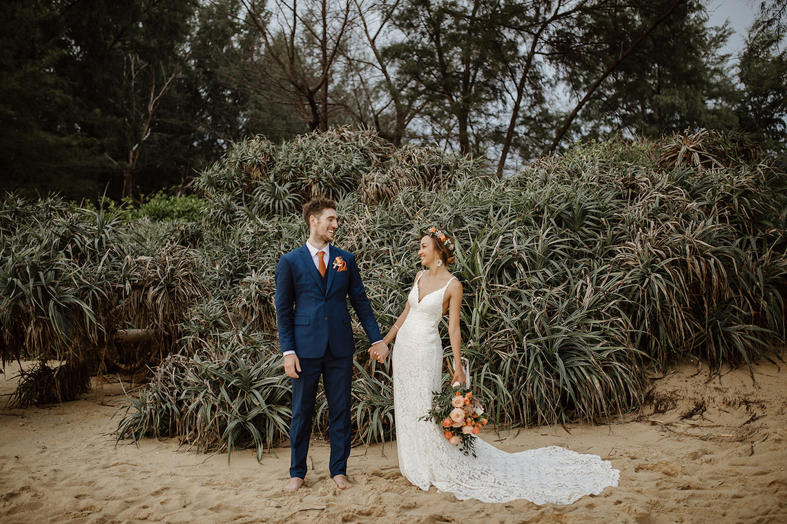 Boho Coral Thailand Beach Wedding – Alen Karupovic 6
