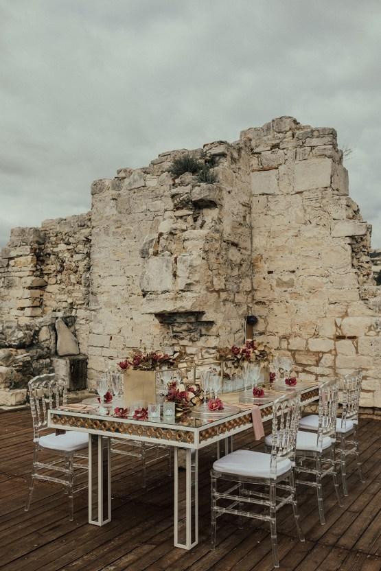 Burgundy & Gold Greek Wedding Inspiration – Aziz Altaany Photography – Bride Diaries 1