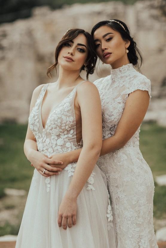 Burgundy & Gold Greek Wedding Inspiration – Aziz Altaany Photography – Bride Diaries 12