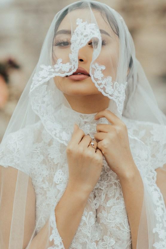 Burgundy & Gold Greek Wedding Inspiration – Aziz Altaany Photography – Bride Diaries 16