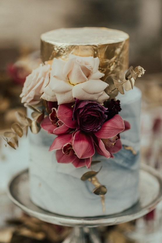 Burgundy & Gold Greek Wedding Inspiration – Aziz Altaany Photography – Bride Diaries 2