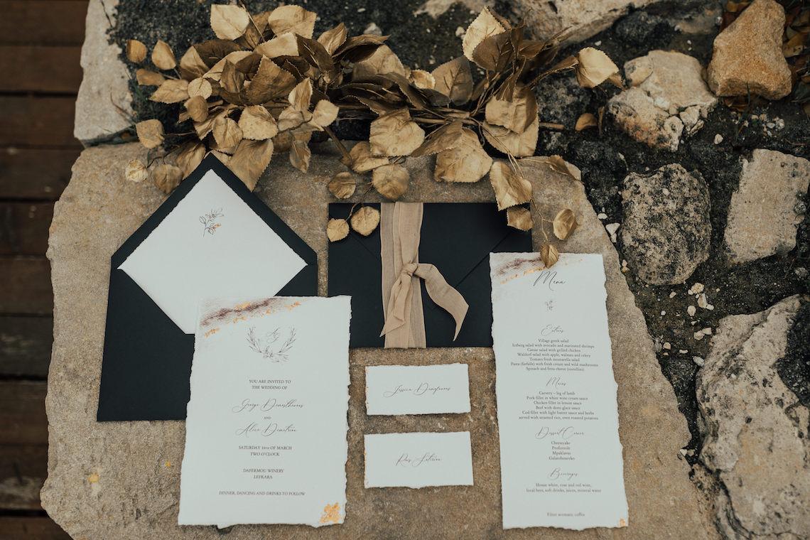 Burgundy & Gold Greek Wedding Inspiration – Aziz Altaany Photography – Bride Diaries 29