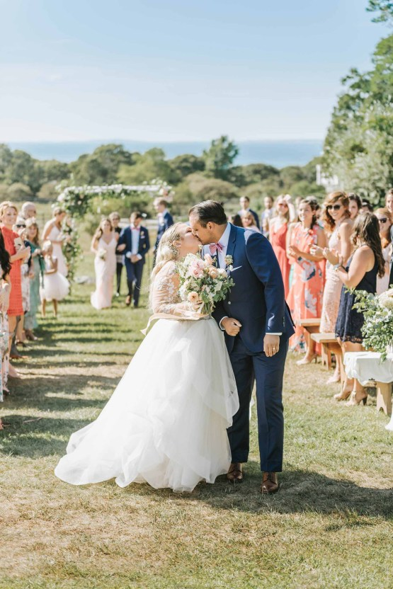 Cheery Marthas Vineyard Summer Wedding – Lena Mirisola Weddings 25