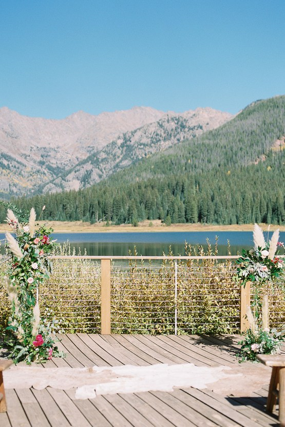 Colorful Colorado Wedding with Stunning Mountain Views – Callie Hobbs – Banks and Leaf 18