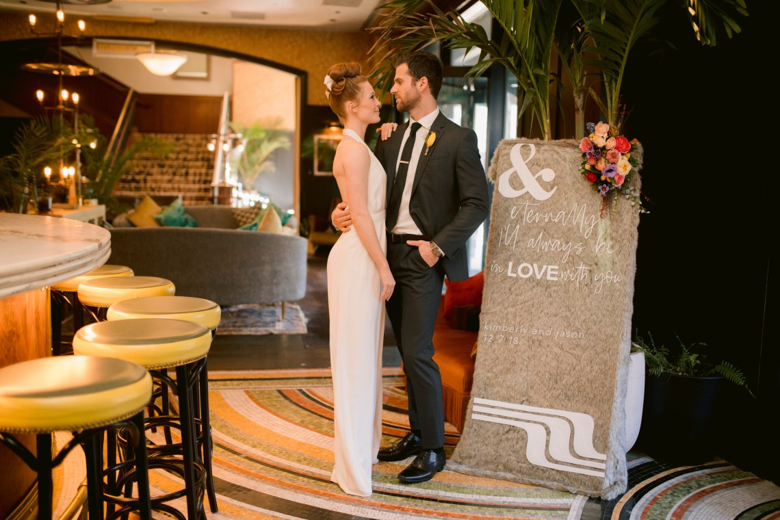 Colorful Retro Elopement Inspiration – Hope Helmuth Photography 11