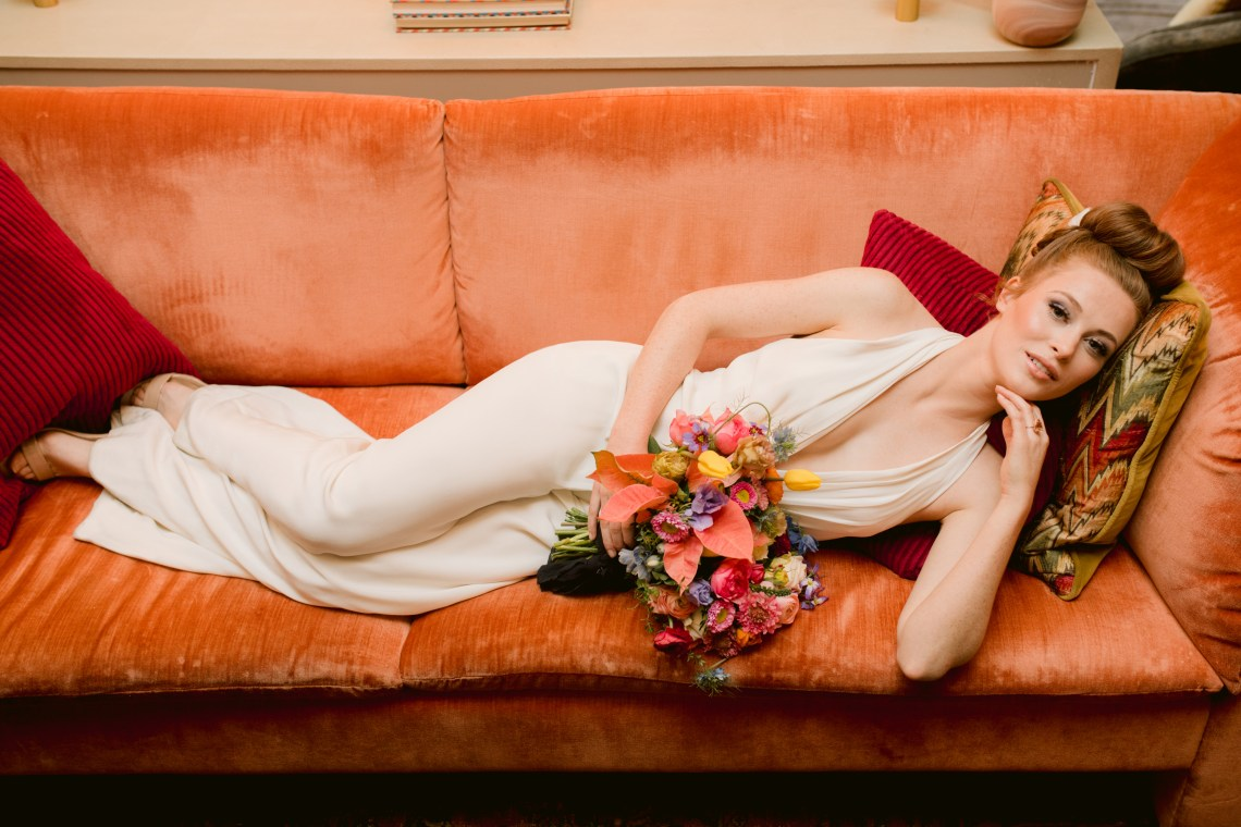 Colorful Retro Elopement Inspiration – Hope Helmuth Photography 13