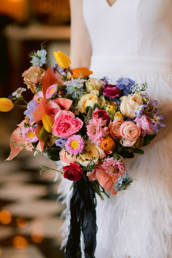 Colorful Retro Elopement Inspiration – Hope Helmuth Photography 24