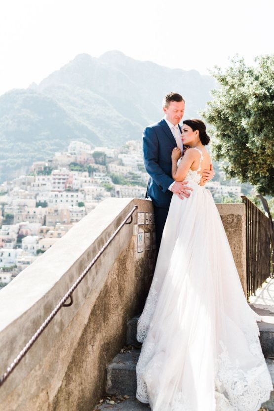 Dramatic Breathtaking Positano Destination Wedding – Lace and Luce Photography 16