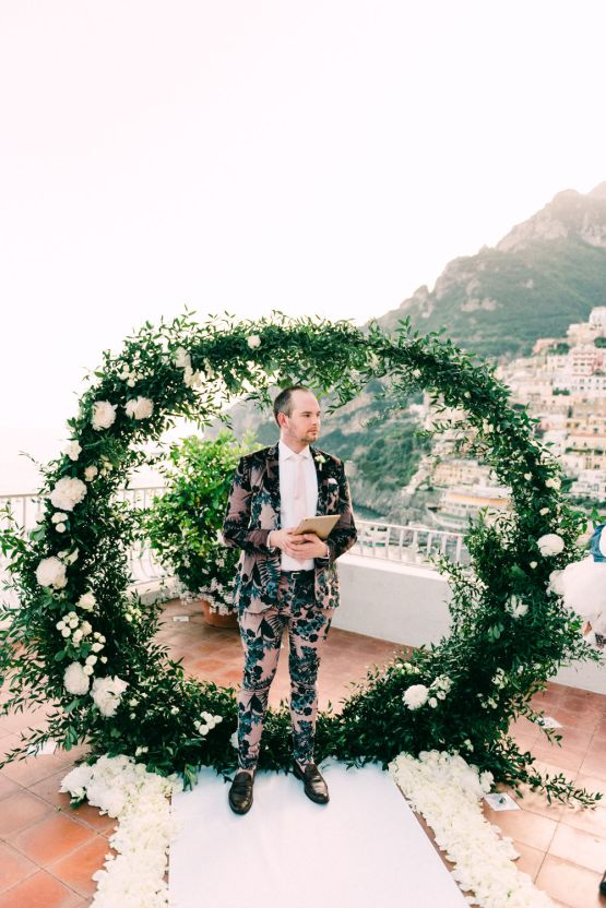 Dramatic Breathtaking Positano Destination Wedding – Lace and Luce Photography 20