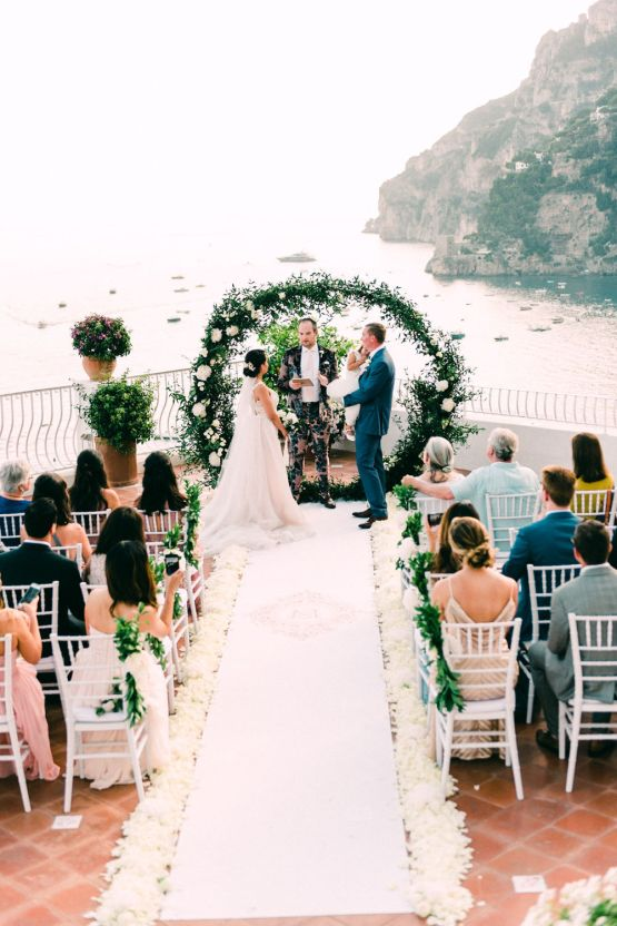 Dramatic Breathtaking Positano Destination Wedding – Lace and Luce Photography 21