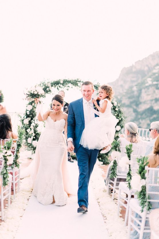 Dramatic Breathtaking Positano Destination Wedding – Lace and Luce Photography 23
