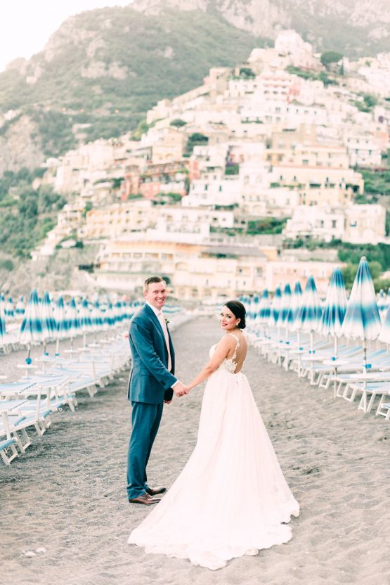 Dramatic Breathtaking Positano Destination Wedding – Lace and Luce Photography 30