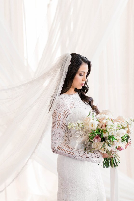 Draped Elegance – Luxurious Indoor Wedding Inspiratoin – Danielle Harris Photography 44