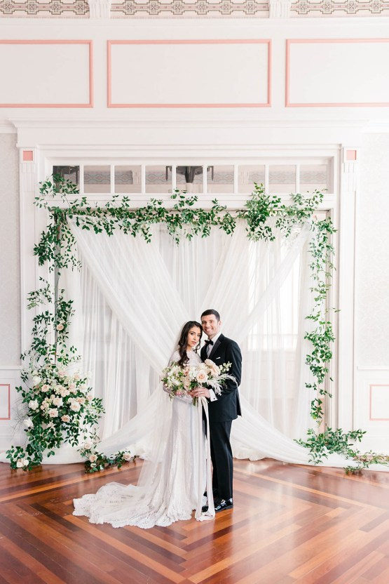 Draped Elegance – Luxurious Indoor Wedding Inspiratoin – Danielle Harris Photography 48