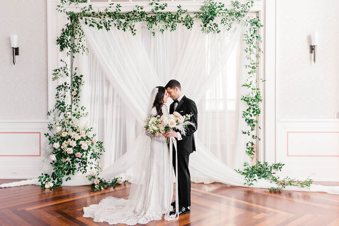 Draped Elegance – Luxurious Indoor Wedding Inspiratoin – Danielle Harris Photography 5