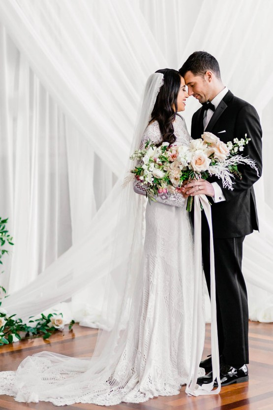 Draped Elegance – Luxurious Indoor Wedding Inspiratoin – Danielle Harris Photography 53