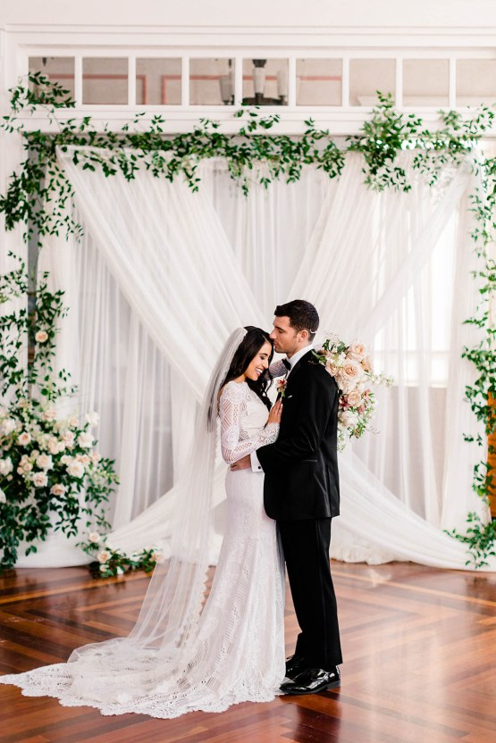 Draped Elegance – Luxurious Indoor Wedding Inspiratoin – Danielle Harris Photography 66