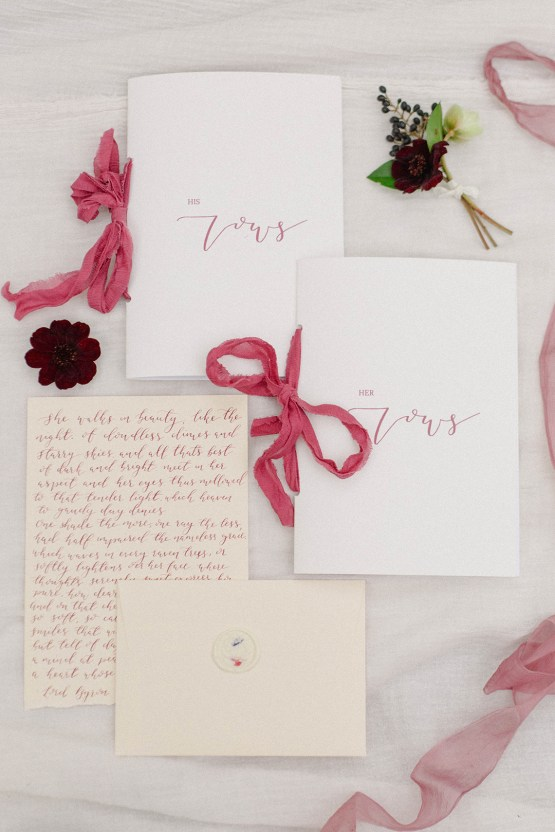 Elegant Berry and Cherry Red Wedding Inspiration – Claire Graham Photography 25