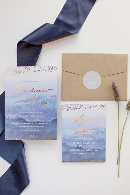 Gorgeous Custom Wedding Invitations By Paperlust 15