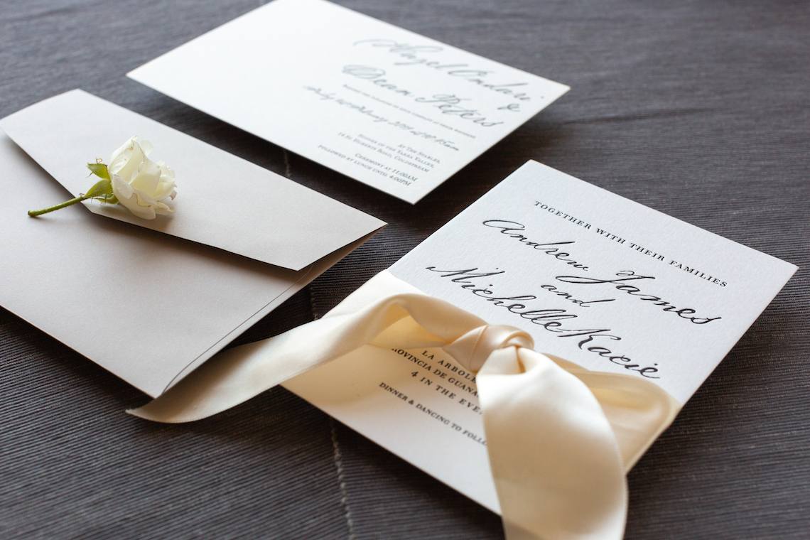 Gorgeous Custom Wedding Invitations By Paperlust 18