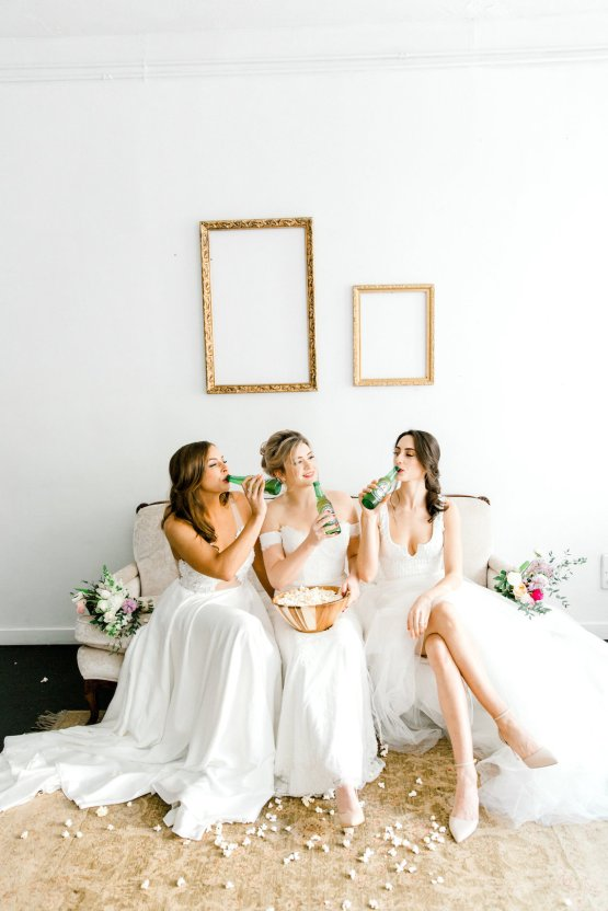 Monica Phoebe and Rachel Friends Bridal Inspiration – Lora Grady Photography 11