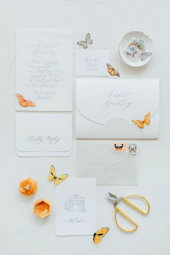 Pretty Butterfly Inspired Wedding Ideas – Anja Schneemann Photography 24