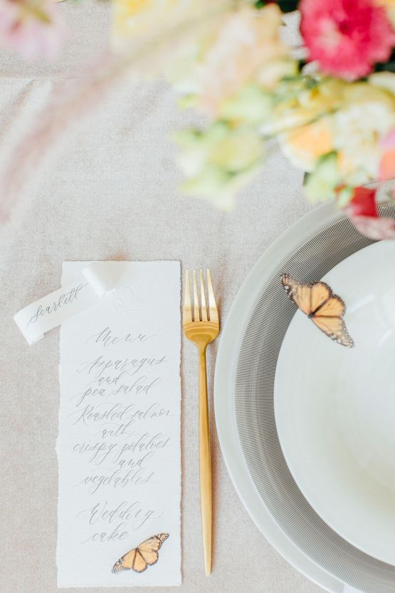 Pretty Butterfly Inspired Wedding Ideas – Anja Schneemann Photography 29