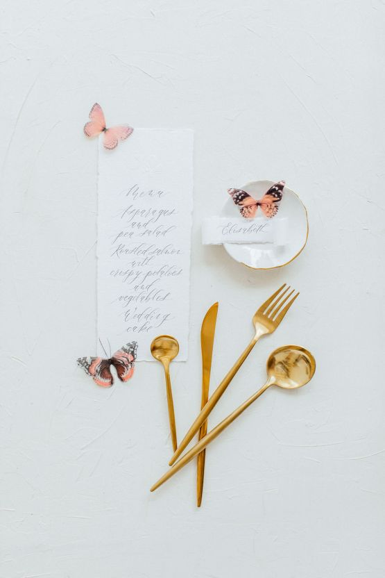 Pretty Butterfly Inspired Wedding Ideas – Anja Schneemann Photography 30